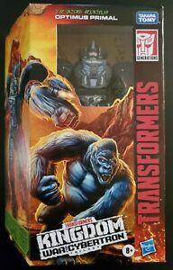 Transformers Kingdom Voyager War For Cybertron Optimus Primal  WFC-K8