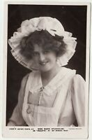 MARIE STUDHOLME - as Paulette in My Mimosa Maid - 1909 used real photo postcard