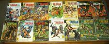 Tarzan Of The Apes Comic Book Lot (14)  1963 -- 1970  Gold Key