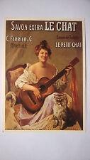 SAVON LE CHAT  Carte postale 21x15 cm