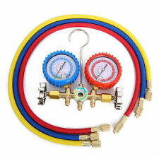 Air Condition Refrigeration Charging Manifold Gauge For R22 R404z R12 R134A