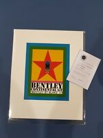 Peter Blake Limited Edition Signed Bentley Print 136/150 with COA