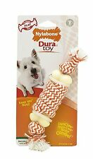 Nylabone Play Corda OSSO Bacon PUPPY SMALL DOG chewteething a doppia azione nrt700p