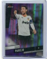 2019-20 Topps Finest UEFA Base Purple #46 Dani Parejo /250 - Valencia CF