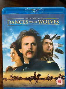 Dances with Wolves Blu-ray 1990 Kevin Costner Sioux Western Movie Classic