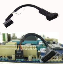 Motherboard USB 9 Pin Female to 20 Pin Male Adapter Cable USB 2.0 to 3.0 FRY