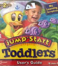 JumpStart Toddlers Deluxe Pc Mac Cd learn Abc count match shapes letters numbers