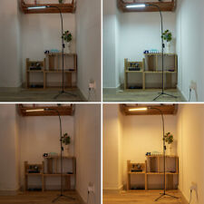Dimmable LED Tall Floor Standing Lamps Table Reading Light Home Study Lighting