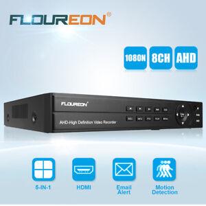 8CH 1080P 1080N CCTV NVR AHD TVI HDMI DVR Sicherheits Video Cloud Recorder NEU