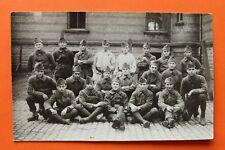 Photo AK France 1. WK WWI Grande Guerre Soldats Uniforme 1914-1920 Post Horn