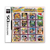 500 in 1 Games DS Dsi Lite 2DS XL 3DS XL Multi-Cartridge Nintendo Multicart NEW