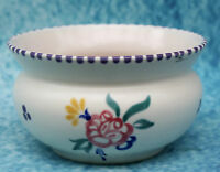 Poole Pottery Small Rose Bowl signed for Poole England B and KP and a squiggle.