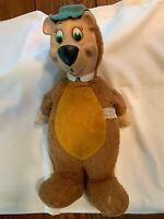 "VINTAGE 1959 YOGI BEAR 18"" Stuffed Plush Doll Knickerbocker FREE SHIPPING 2 You!"