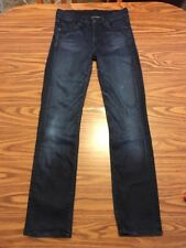 Womens Citizens Of Humanity Jeans Size 27. AVA Low Waist Straight Dark Rayon