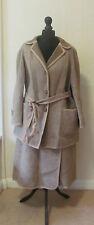 Vintage 1970s Fully Reversible Welsh Woolen Skirt Suit - Approx Sz 14