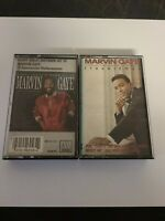 Lot of 2 Marvin Gaye Cassette Tapes Troubleman & Greatest Hits Plays 100% EUC