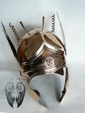 16ga Sca Larp Medieval Late Century Roman Helmet/ Fantasy Viking Helmet Replica