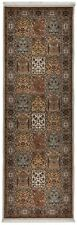 Handknotted wool carpet / rug runner Bachtiar (84 X 253 cm)