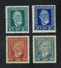 CKStamps: Germany Stamps Collection Scott#340-343 Mint H OG
