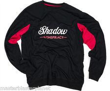 SHADOW CONSPIRACY CONTENDER LONG SLEEVE BMX JERSEY SHIRT SIZE SM BLACK RED NEW