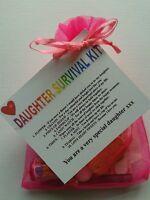 DAUGHTER Survival Kit Birthday Keepsake Gift Present Novelty Special Christmas