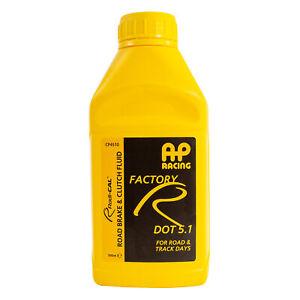 AP Racing Factory R Dot 5.1 Fast Road / Track Day Brake Fluid - 500ml Bottle