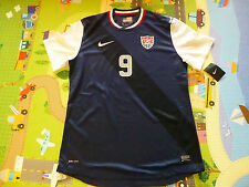 NWT Nike 12/13 USA MNT Authentic Player Issued #9 Agudelo Blue Away Jersey XL