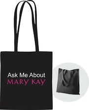Ask Me About Mary Kay..Tote Bag Black with handles **Free Shipping** Great Gift!