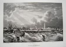 Cuxhaven Elba mare del Nord Bassa Sassonia vero età ACCIAIO CHIAVE 1844