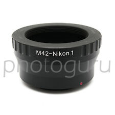 Anello adattatore obiettivi M42 42x1 su corpo NIKON1 V1 V2 J1 J2 J3 S1 NIKON 1