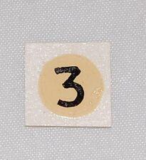 """#84 Corgi Transfer for Lotus X1 #151A """"No 3"""""""