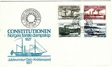 NORWAY - 1977 NORWAY SHIPS ON COVER