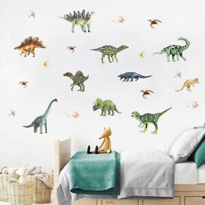 Cartoon Dinosaur Animals Vinyl Wall Decal Nursery Baby Room Decor Sticker Gift