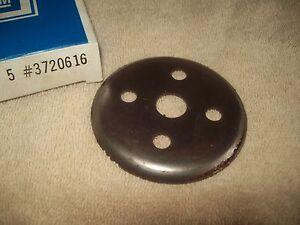 NOS 58-61 Corvette Fan pulley reinforcement plate 67 68 Vette 3720616