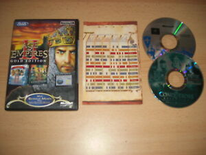 AGE OF EMPIRES II GOLD EDITION Pc AOE 2 Base game + THE CONQUERORS Expansion