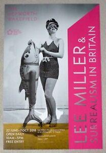 LEE MILLER Surrealism in Britain  2018 ART EXHIBITION POSTER