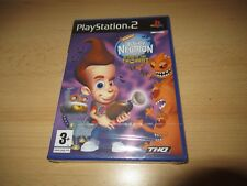 JIMMY neutrón Boy Genius ATTACK OF THE TWONKIES PLAYSTATION 2 PS2 -