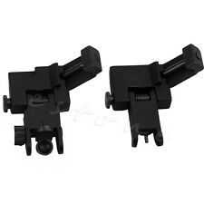 1 Pair 45 Degree Off BUIS Flip Up Back Up Sight Front Rear Set Rapid Transition