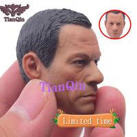 Custom 1/6 Jean-Claude Van Damme Head Sculpt A-26 Headplay Fit 12'' Body Figure