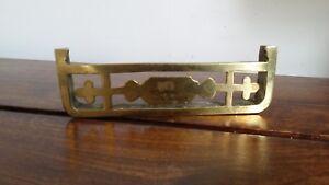 Vintage Miniature Brass Fender (Collectible Decorative Dolls House Miniature)