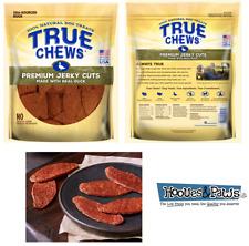 NATURAL TYSON TRUE CHEWS  DUCK JERKY DOGS TREATS USA MADE 22 Ounce or 12oz