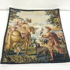 """Flanders Tapestry Belgium The Falcon Renaissance Tapestry Pillow Cover 17"""""""