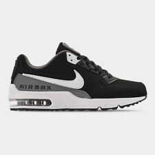 NIKE AIR MAX LTD 3 MEN's BLACK - WHITE - COOL GREY LEATHER CASUAL NEW IN BOX SZ