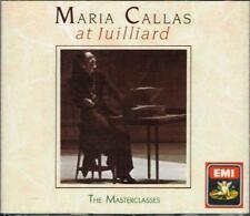 Maria Callas At Julliard, The Masterclasses - CD