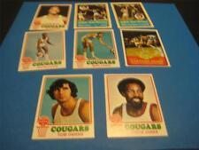 1973/74 Topps Carolina Cougars Team Set 8 Cards NM
