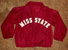1970s 80s Mississippi State Bulldogs Game Worn Jacket - Baseball Football, RARE