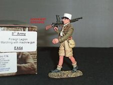 King and country EA64 8TH Ejército legión extranjera marchando con ametralladora figura