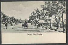 Ca 1907 Ppc* Bombay India Queens Road Photo Type Mint