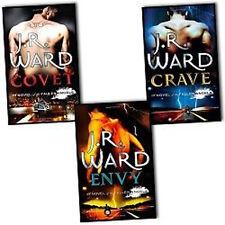 J. R. Ward Fallen Angels Series Collection 3 Books Pack Set