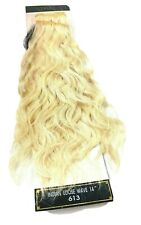 """Indian Remy Loose Wave Human Hair 14""""# 613 Platinum Blond Eve"""